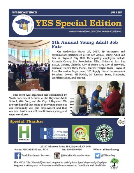 5th Annual Young Adult Job Fair